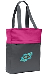Christian Tote Bag Everyday Carryall Pink