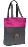 Peace Frogs Tote Bag Everyday Carryall Pink
