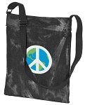 Peace Sign CrossBody Bag COOL Hippy Bag