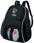 Flamingo Ball Backpack