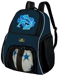 DOLPHIN SOCCER Backpack or VOLLEYBALL Bag