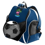 Flamingo Soccer Ball Backpack