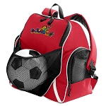 Peace Frogs Soccer VolleySoccer Backpack