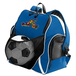 Peace Frogs Soccer Backpack