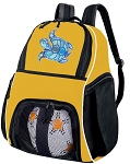 Turtle Soccer Ball Backpack Bag Yellow