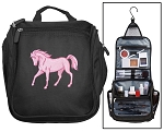 Horse Lover Toiletry Bag Cosmetic Travel Bag Organizer Gift Idea for Her!