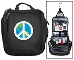 Peace Sign Toiletry Bag or Shaving Kit