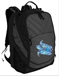 Turtle Deluxe Laptop Backpack Black