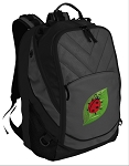 Ladybug Deluxe Laptop Backpack Black