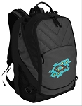 Christian Deluxe Laptop Backpack Black