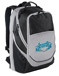BLUE CRAB Laptop Backpack