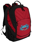 BLUE CRAB Laptop Computer Backpack