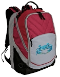 BLUE CRAB Deluxe Laptop Backpack Red