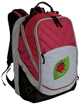 Ladybug Deluxe Laptop Backpack Red