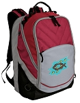 Christian Deluxe Laptop Backpack Red