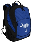 South Carolina Deluxe Computer Backpack Blue