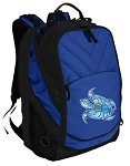 Turtle Deluxe Computer Backpack Blue