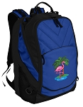 Flamingo Deluxe Computer Backpack Blue
