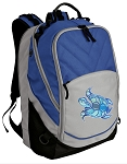 Turtle Deluxe Laptop Backpack Blue