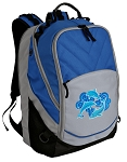 DOLPHINS Deluxe Laptop Backpack Blue