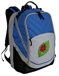 Ladybug Deluxe Laptop Backpack Blue