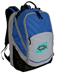 Christian Deluxe Laptop Backpack Blue