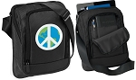 Peace Sign Tablet or Ipad Shoulder Bag