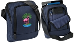 Flamingo Tablet or Ipad Shoulder Bag Navy