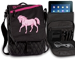Cute Horse Tablet Bags & Cases Pink