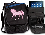Cute Horse Tablet Bags & Cases Blue