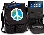Peace Sign Tablet Bags & Cases Blue