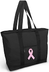 Pink Ribbon Tote Bag Pink Ribbon Totes