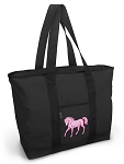 Horse Tote Bag Pink Horse Totes
