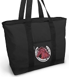 Horse Tote Bag ZIPPERED TOP