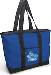 Turtle Blue Tote Bag