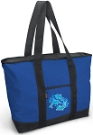 DOLPHINS Tote Bag Blue