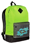 Christian Backpack Classic Style Fashion Green