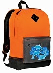 Dolphin Backpack HI VISIBILITY Orange CLASSIC STYLE
