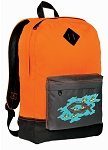 Christian Backpack Classic Style Cool Orange