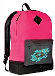 Christian Backpack HI VISIBILITY Pink CLASSIC STYLE
