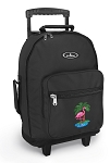 Flamingo Rolling Backpacks Black