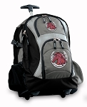 Horse Rolling Backpack Black Gray