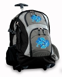 DOLPHINS Rolling Backpack Black Gray