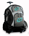 Christian Rolling Backpack Black Gray