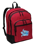 Turtle Backpack CLASSIC STYLE Red