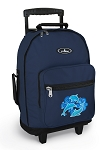 DOLPHINS Rolling Navy Backpacks