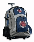 Horse Rolling Backpack Navy