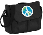 Peace Sign Diaper Bag