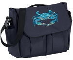BLUE CRAB Diaper Bag Navy