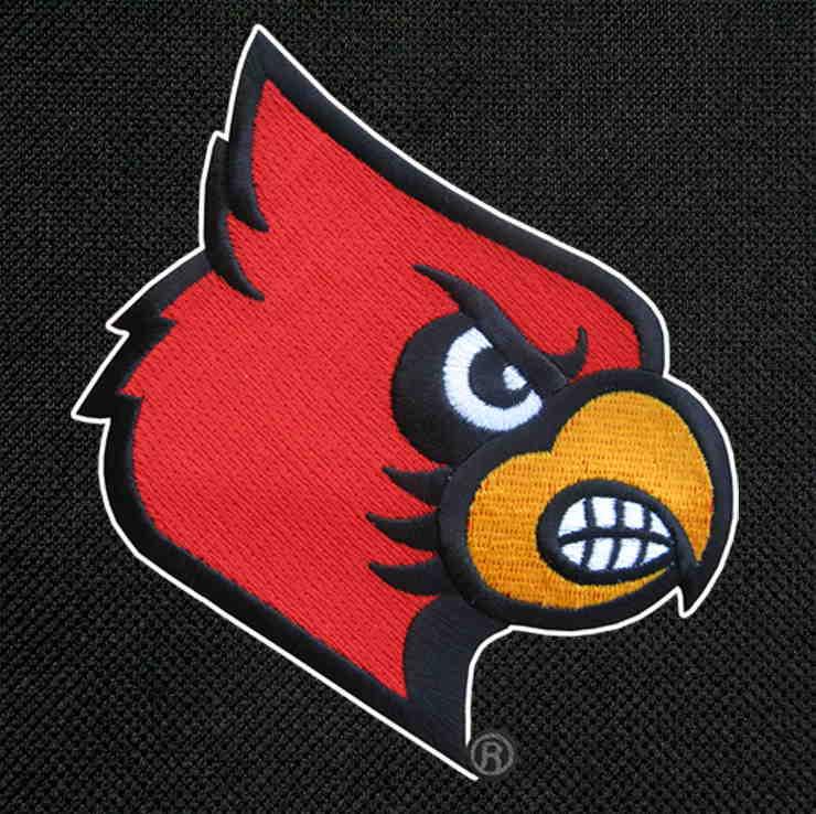 Louisville Cardinals Lunch Bag Black
